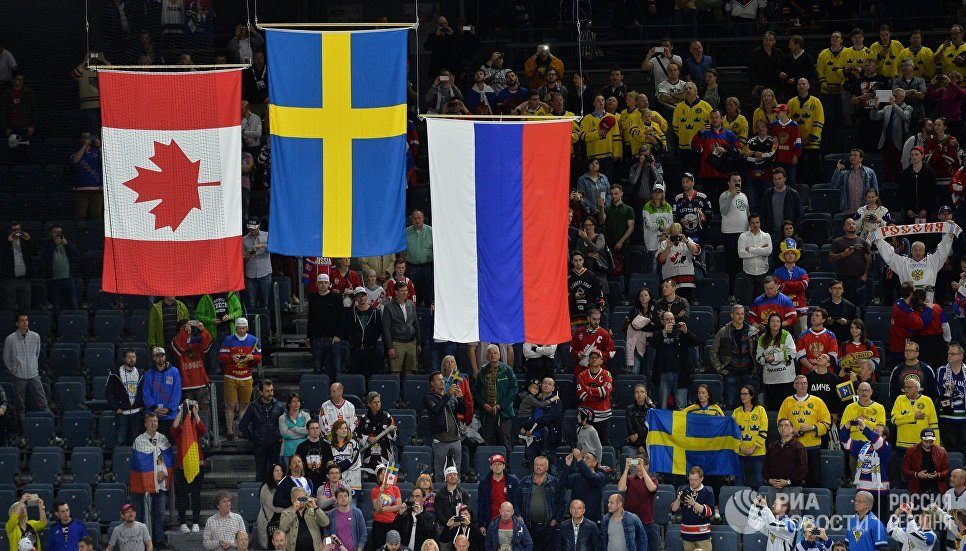 Церемония награждения чемпионата мира по хоккею 2017 в Кельне