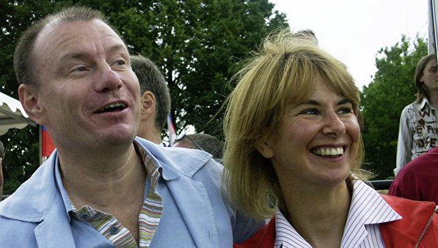 Владимир Потанин с первой женой Натальей