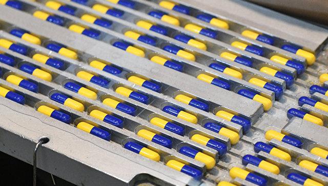 Фармацевтическое призводство. Архивное фото