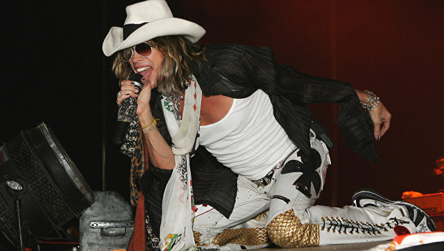 Группа Aerosmith исполнила наконцерте в столице России песню вподдержку Манчестера