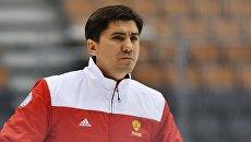Тренер сборной России по хоккею Игорь Никитин