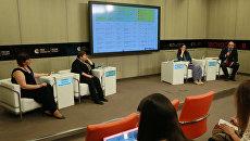 Пресс-конференция Активный детский туризм летом: проблемы, тенденции, качество в ММПЦ МИА Россия Сегодня
