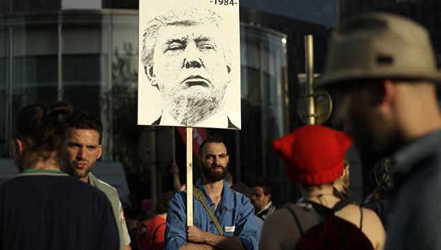 Трампу вБрюсселе нерады