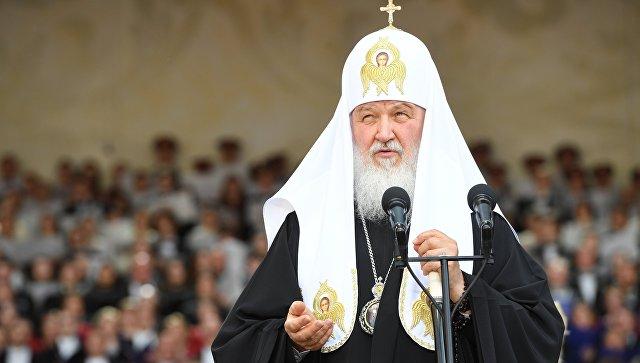 Патриарх Кирилл прибыл с визитом в столицу Киргизии