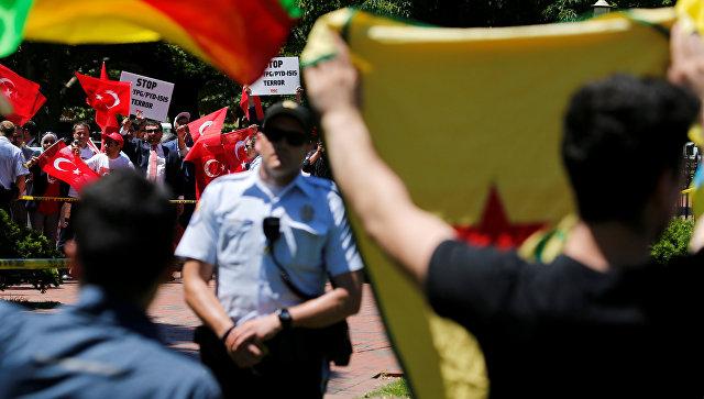 В съезде  США потребовали привлечь охрану Эрдогана кответственности