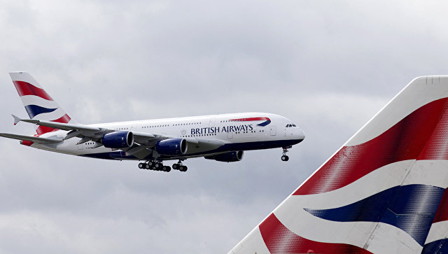 British Airways частично возобновила полеты