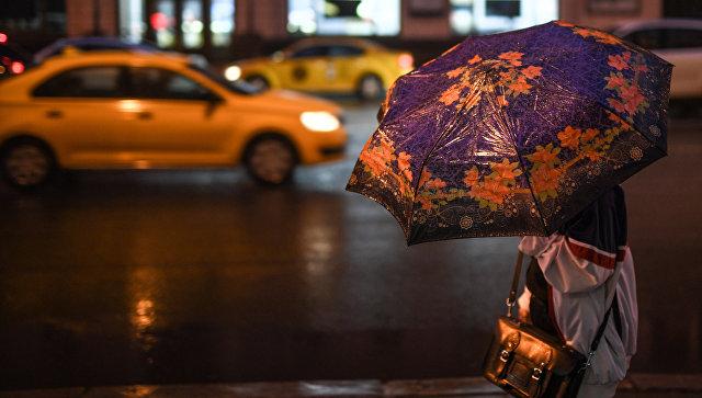 В Москве ожидается гроза с градом и сильным ветром
