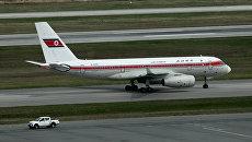 Самолет авиакомпании Air Koryo в международном аэропорту Владивосток. Архивное фото