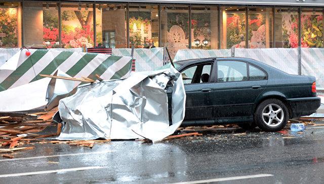 Мужчина умер вовремя урагана в столице