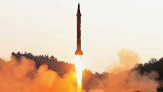 Запуск баллистической ракеты в КНДР. 30 мая 2017