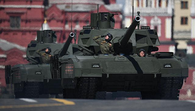 Рособоронэкспорт отверг планы поэкспорту танков «Армата» иС-500