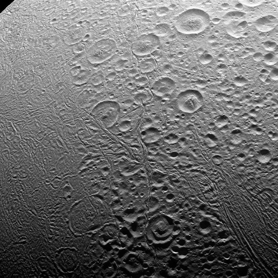 Северный полюс Энцелада