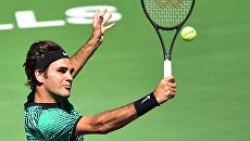Теннисист Роджер Федерер. Архивное фото