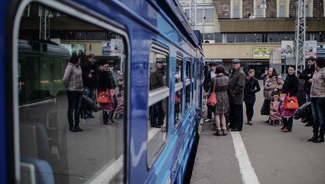 Электрички на Ярославском направлении задержали из-за сорванных стоп-кранов