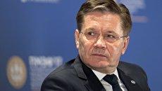 Генеральный директор корпорации Росатом Алексей Лихачев на Санкт-Петербургском международном экономическом форуме 2017