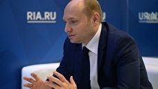 Министр Российской Федерации по развитию Дальнего Востока Александр Галушка на Санкт-Петербургском международном экономическом форуме 2017