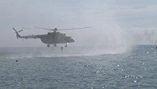 Водолазы, снайперы и вертолеты: тактико-специальные учения ФСБ РФ в Ялте