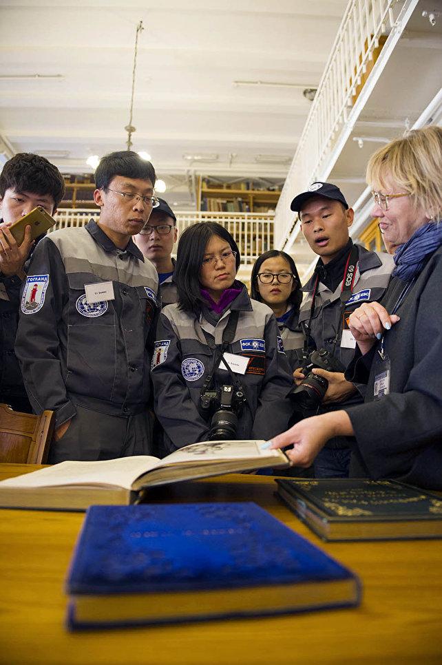 В архивах библиотеки РГО хранятся уникальные исторические книги и атласы, в том числе и на китайском языке
