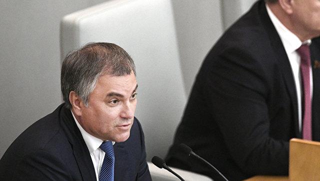 Володин ответил критикам реновации в столицеРФ