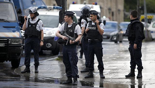 Французская полиция в Париже. Архивное фото