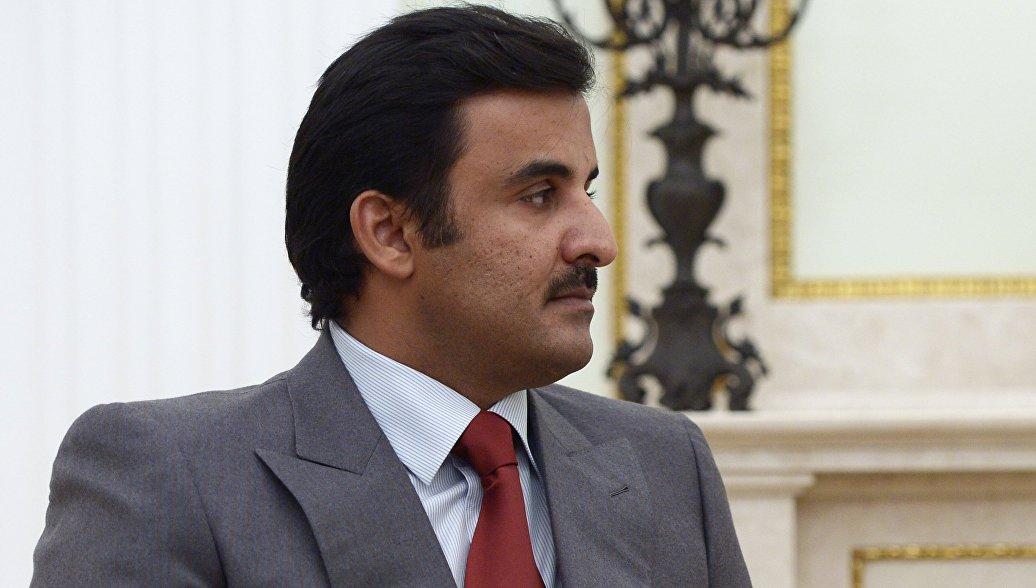 Эмир Катара назвал причину конфликта вокруг его страны