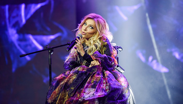 Российская певица Юлия Самойлова. Архивное фото