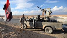 Бойцы движения Хезболлах на передовых позициях Сирийской Арабской Армии
