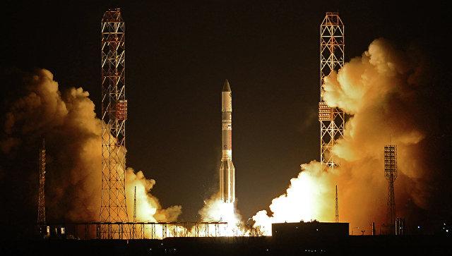Пуск ракеты-носителя Протон-М, архивное фото