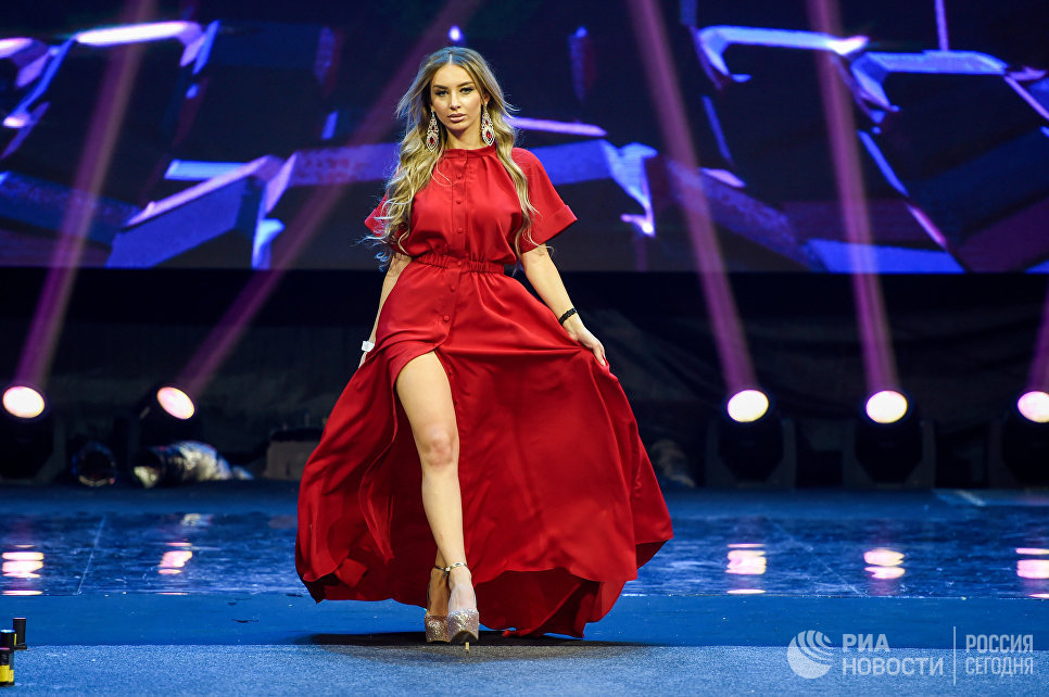 Победительница финала конкурса красоты Мисс СНГ Шушан Ерицян
