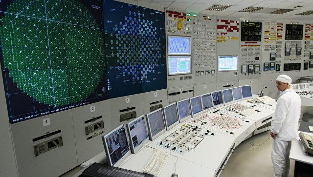 Работа Ленинградской АЭС. Архивное фото