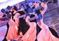 Команда формейшен Дуэт (Россия) выступает на шоу Звездный Дуэт - Легенды Танца! в Кремлевском Дворце в Москве