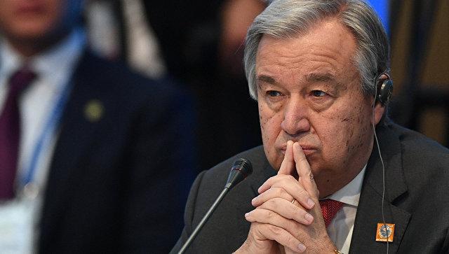Генсек ООН призвал сохранить ядерную сделку с Тегераном