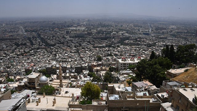 Россия зафиксировала семь обстрелов в жилых кварталах Дамаска