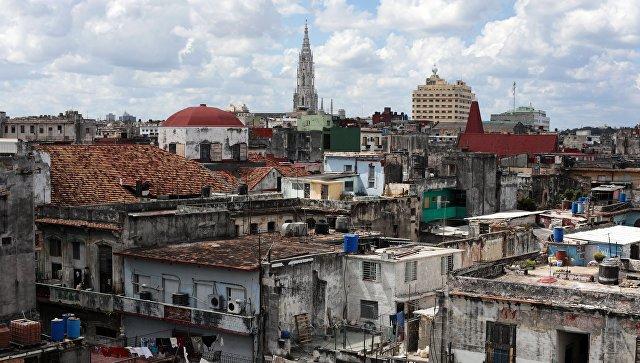 Жилые кварталы в районе Старая Гавана