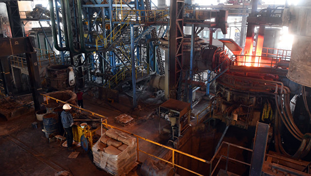Металлургический завод в Сирии. Архивное фото