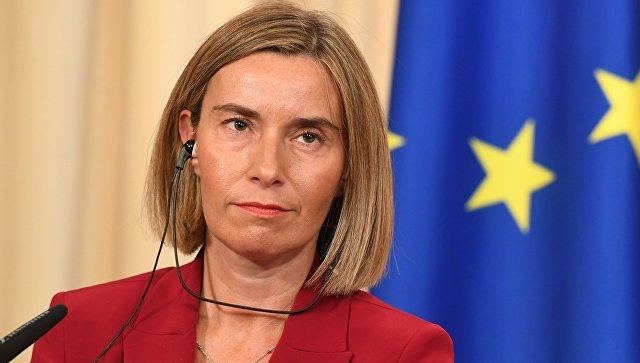 Могерини: ЕС не обсуждает дополнительные санкции против Ирана