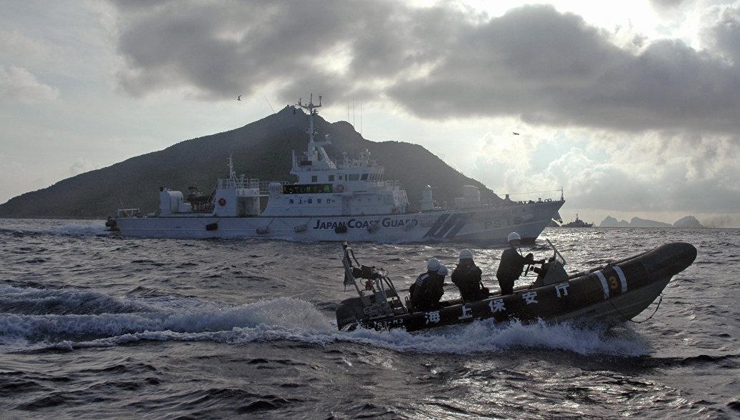 Японская береговая охрана направилась к месту падения самолетов ВМС США