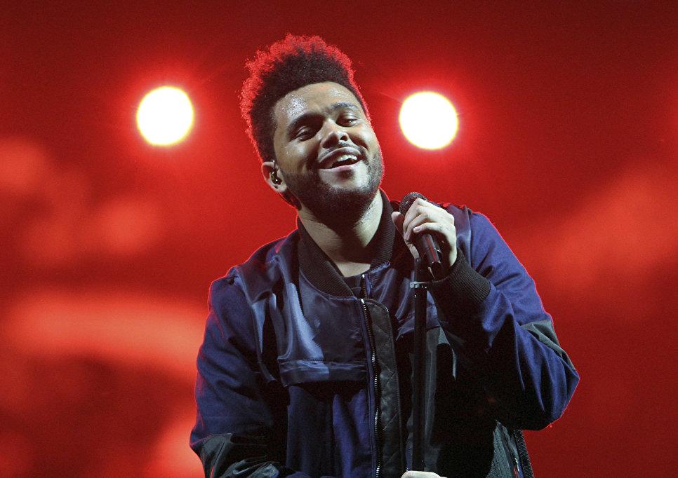 Выступление группы The Weeknd в Атланте