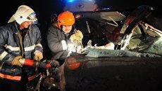 Спасатели МЧС России ликвидируют последствия ДТП в Забайкальском крае