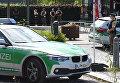 Полиция близ ж/д станции Унтерфёринг под Мюнхеном, где произошла стрельба. 13 июня 2017