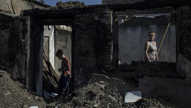 Более двух тысяч человек в ДНР лишились жилья из-за конфликта в Донбассе
