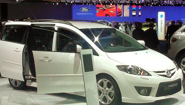Мазда отзывает в Российской Федерации неменее 4,5 тыс. машин из-за подушек безопасности