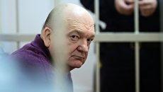 Бывший директор Федеральной службы исполнения наказаний России Александр Реймер в Замоскворецком суде Москвы. 13 июня 2017