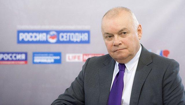 Дмитрий Киселев несмог добиться отмены санкций европейского союза