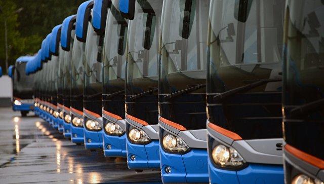 Экскурсионные автобусы. Архивное фото