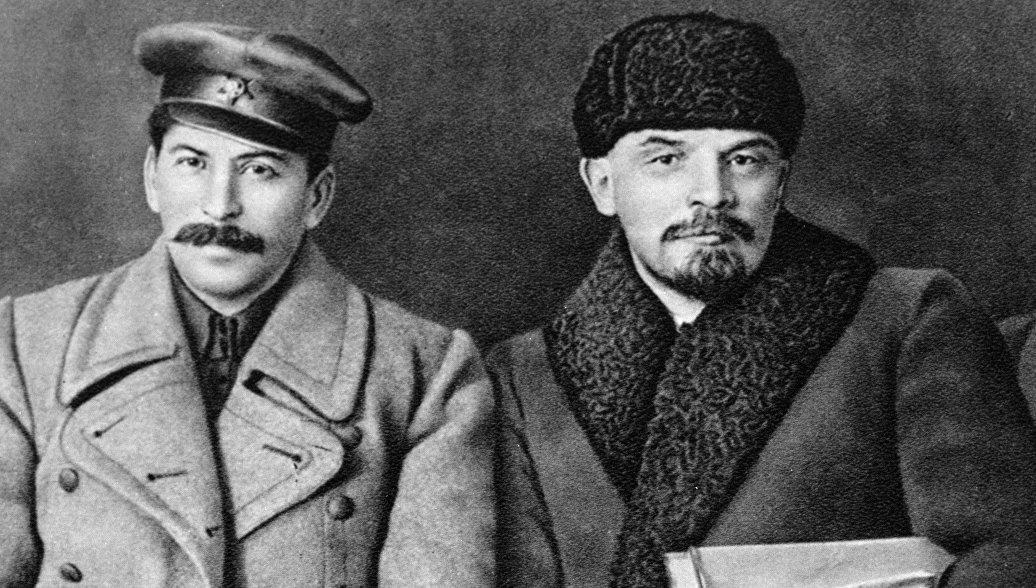 Иосиф Виссарионович Сталин, Владимир Ильич Ленин