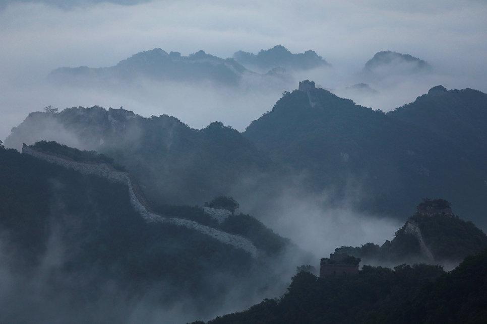 Туман над Великой Китайской стеной