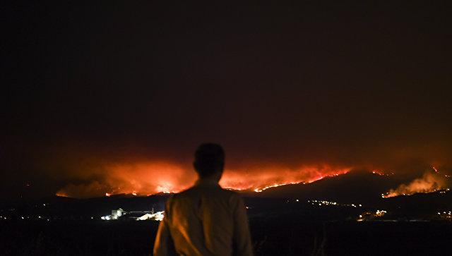 Посольство призывает граждан России  избегать охваченных пожарами районов Португалии
