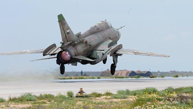 Истребитель Миг-21 сирийских военно-воздушных сил. Архивное фото