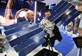 "Стенд ""Роскосмоса"" на Международном авиасалоне ""Ле Бурже-2017"" во Франции"